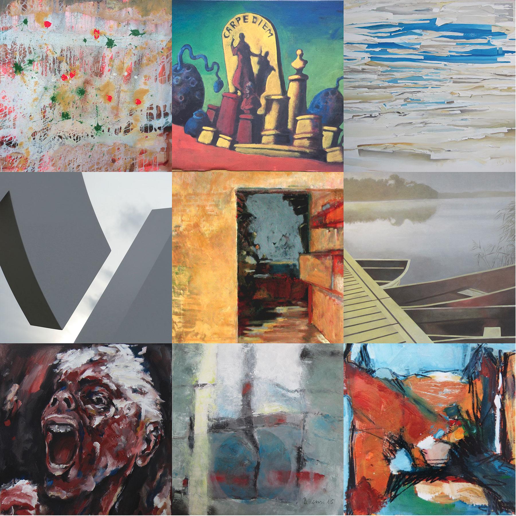 »Ausblicke« – VKU Gruppenausstellung im Franck-Haus Marktheidenfeld