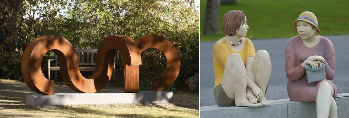 100 Jahre VKU - Skulpturenausstellung